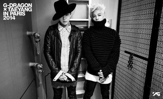 Bigbang成员GD太阳6月公开巴黎视频集