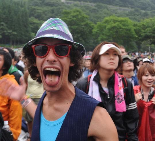 图文:富士音乐节之激情篇--我的舌钉怎么样