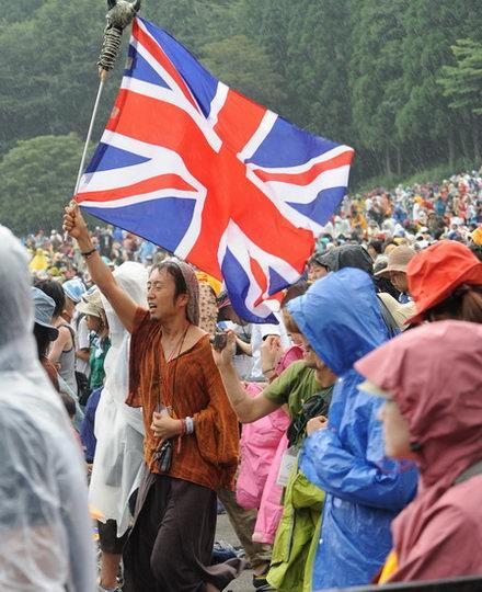 组图:富士音乐节之雨中激情篇
