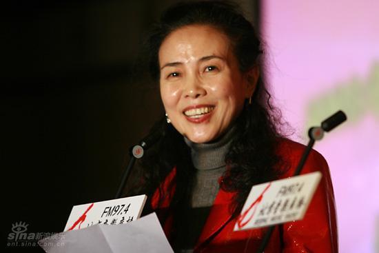 图文:北京音乐台台长张勤女士出席发布会