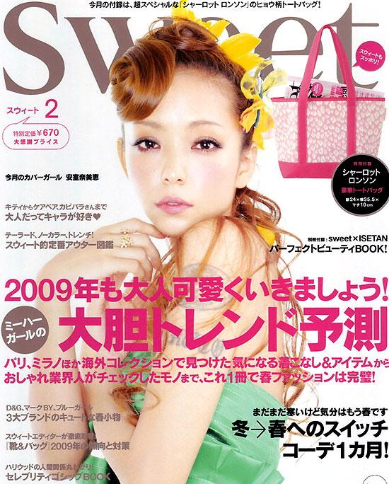 组图:安室奈美惠登时尚杂志示范色彩游戏