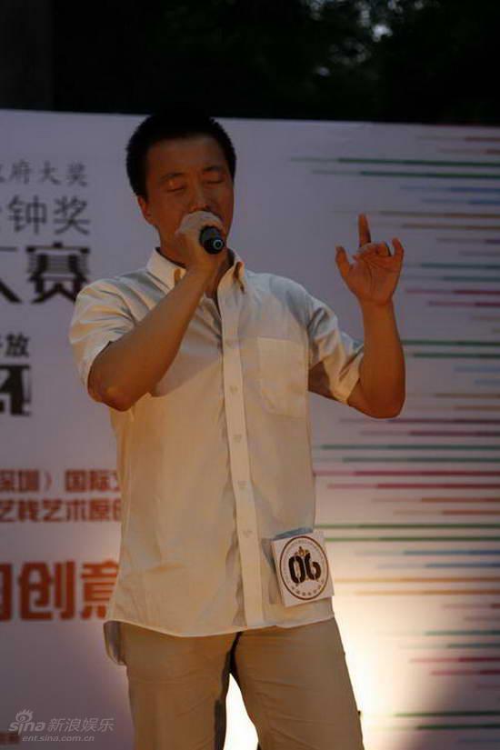 图文:金钟奖深圳大学选拔-彰显自我