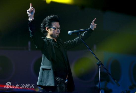 图文:汪峰北京演唱会--气定神闲