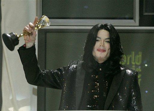 图文:杰克逊的最后30个瞬间-世界音乐钻石奖
