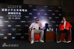 组图:亚瑟小子亮相北京很亲切王力宏教中文