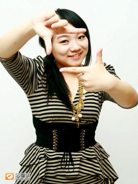 图文:快乐女声西安唱区10强-黄博