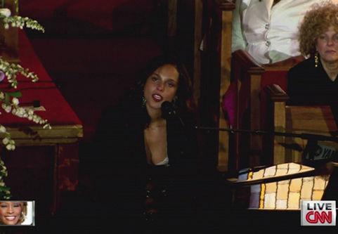 Alicia Keys哀恸