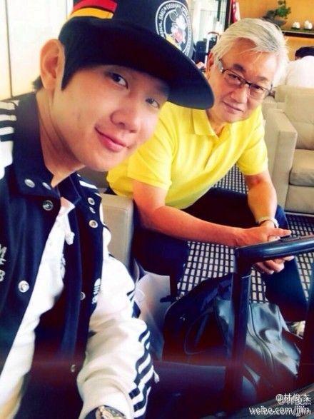林俊杰和爸爸