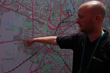 全市有26%的人骑车出行