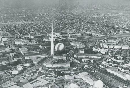 1939年纽约世博会航摄照片
