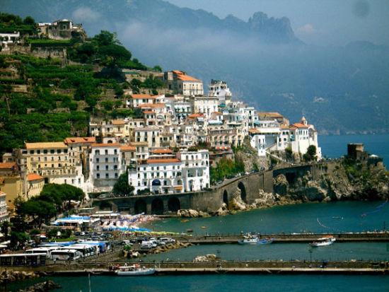 世界最美悬崖海岸:意大利阿玛尔菲海岸