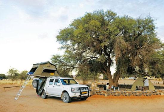 神奇的车顶帐篷
