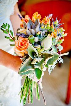 多肉植物主题婚礼
