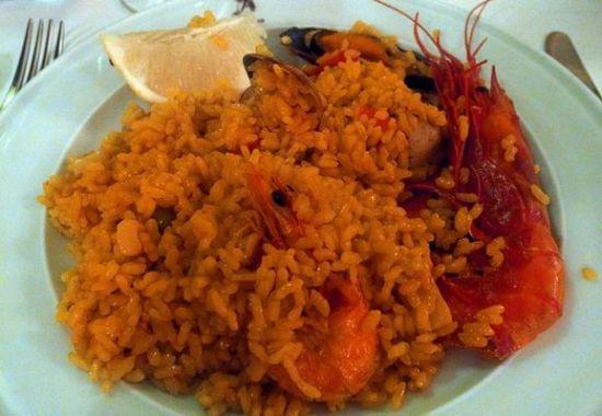 西班牙海鲜炒饭
