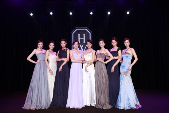 【新珠宝】海瑞温斯顿Water顶级珠宝系列璀璨金秋绚耀京城