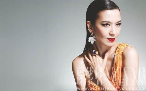 【新珠宝】婚后下海 林熙蕾示范商场女汉子实用珠宝搭配
