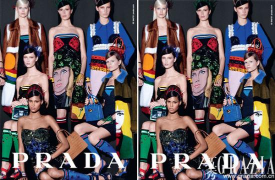 Prada2014春夏广告新鲜出炉再次主打多种族面孔