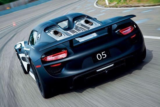 918 Spyder顶置排气管