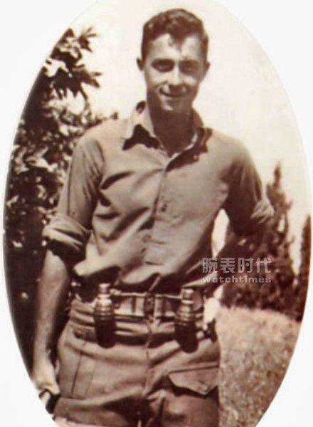 以色列之王沙龙将军与百年灵EVO