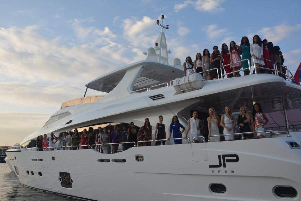 15艘豪华游艇 杰鹏游艇最强阵容闪耀海天盛筵