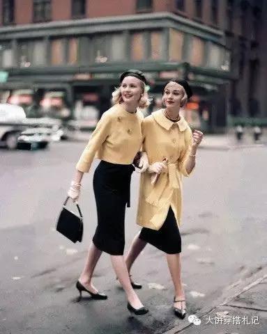 这些搭配经典几十年,难怪永不过时还谁穿都好看!