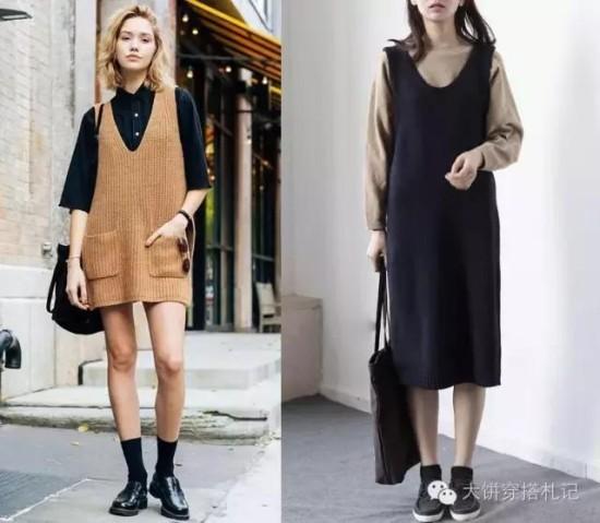 这个秋冬穿对你的针织裙,才能时髦温暖两不误。 - Modish饼 - Modish饼s STYLE BLOG
