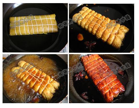 大豆精华:浓香豆皮卷(组图)