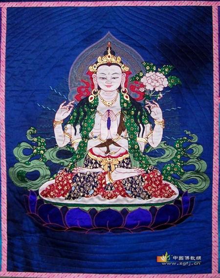 藏传佛教四臂观音