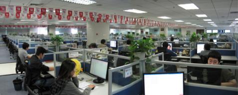 中青宝网办公区