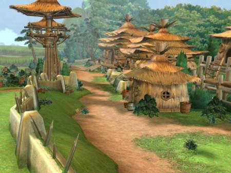 《轩辕剑伍》游戏场景