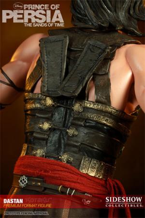 《波斯王子》塑像背部细节