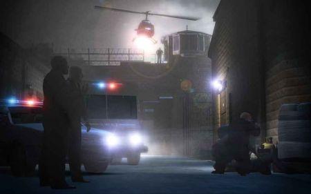 第一季结尾越狱的高潮场面,在游戏中变成了一场闹剧