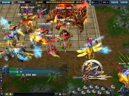 游戏截图-人气飙升 梦三国OL 今日开启新服夷陵之战