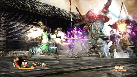 姜维战斗画面
