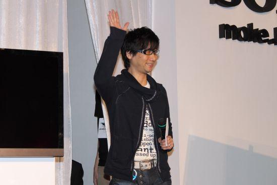 小岛秀夫登台担任特别来宾