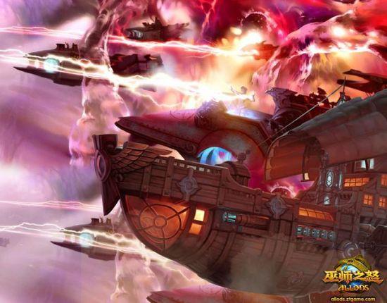也可以驾驶飞船前往敌方岛屿进行战斗.