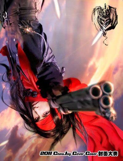 《最终幻想7》文森特o瓦伦丁-2011 CJ 封面大赛优秀选手评选第三弹