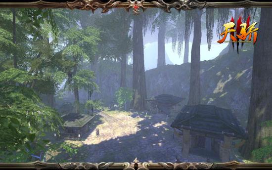 壁纸 风景 旅游 瀑布 山水 游戏截图 桌面 550_344