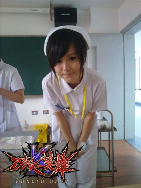 可爱MM护士装