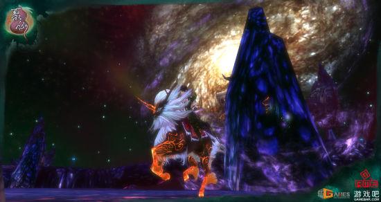 碧玄派灵官和她的坐骑火麒麟