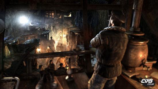 《地铁:残光夜影》游戏截图