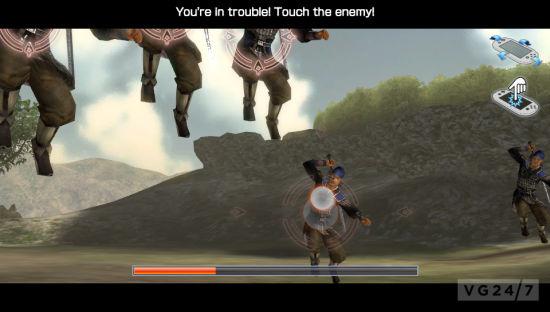 真三国无双Vita游戏截图