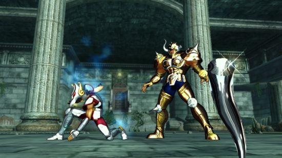 《圣斗士星矢战记》打败阿鲁迪巴