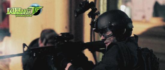 《风暴战区》枪战电影截图