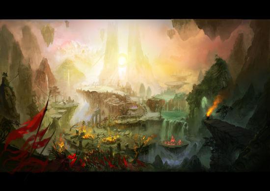 《夺宝传世》游戏场景