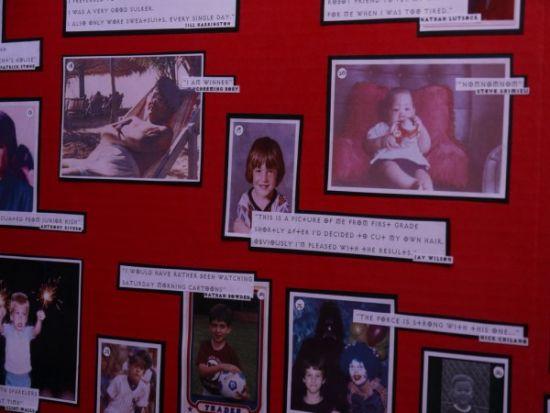 19 号的照片就是研发总监 Jay Wilson 小时候的照片