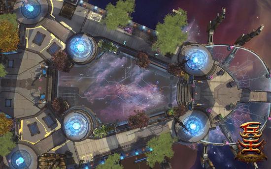 悬浮在星空的星之城