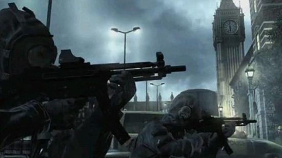 大笨钟和伦敦警车、大巴皆出现在游戏画面中,还有大量爆炸画面在各大城市都有出现。