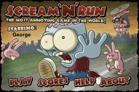 卡通 奔跑小白兔