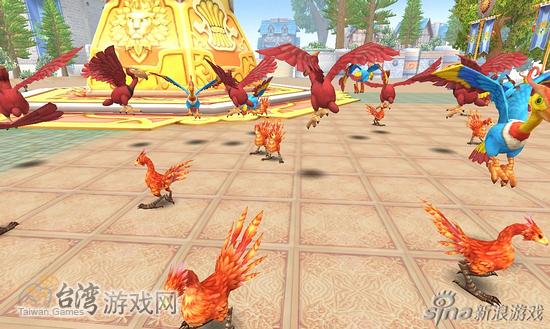 06逃跑的火鸡们出现在加斯洛了,快把��们抓回来吧!_台湾游戏网